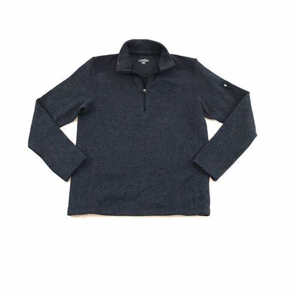 Eddie Bauer Sweatshirt Fleece 1/4 Zip Pullover